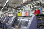 Плосковязальные автоматы STOLL 3,7 и 12 класса в процессе производства полотна на фабрике KORA в Запорожье