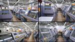 Трикотажный цех украинской фабрики KORA