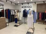 Интерьер фирменного магазина трикотажной фабрики KORA в Киеве